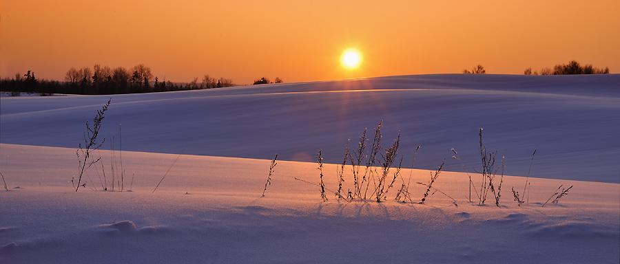 Estonia landscape at -25dg!