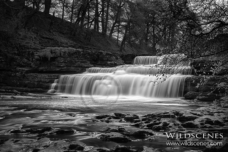 Yorkshire Dales landscape photography: Aysgarth Falls